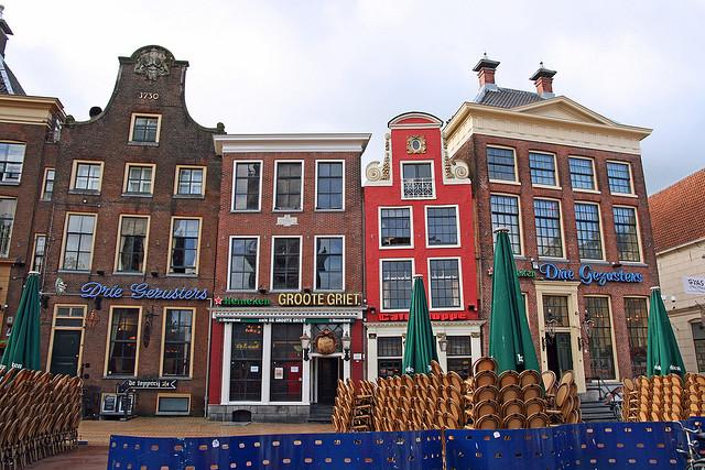 Photo Grote Markt in Groningen, View, Coffee, Drink, Neighborhood - #1