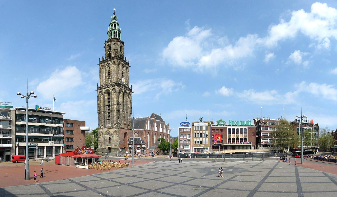 Photo Grote Markt in Groningen, View, Coffee, Drink, Neighborhood - #2