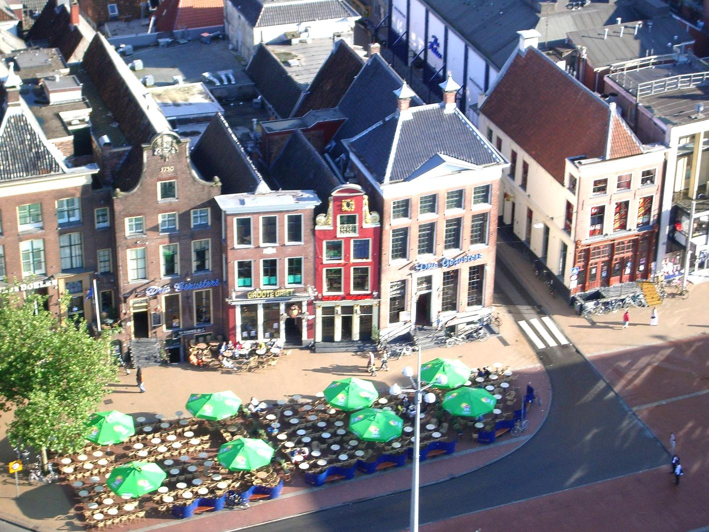 Photo Grote Markt in Groningen, View, Coffee, Drink, Neighborhood - #3
