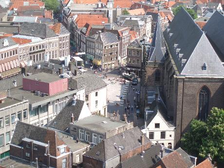 Photo Grote Markt in Zwolle, View, Neighborhood, square, park