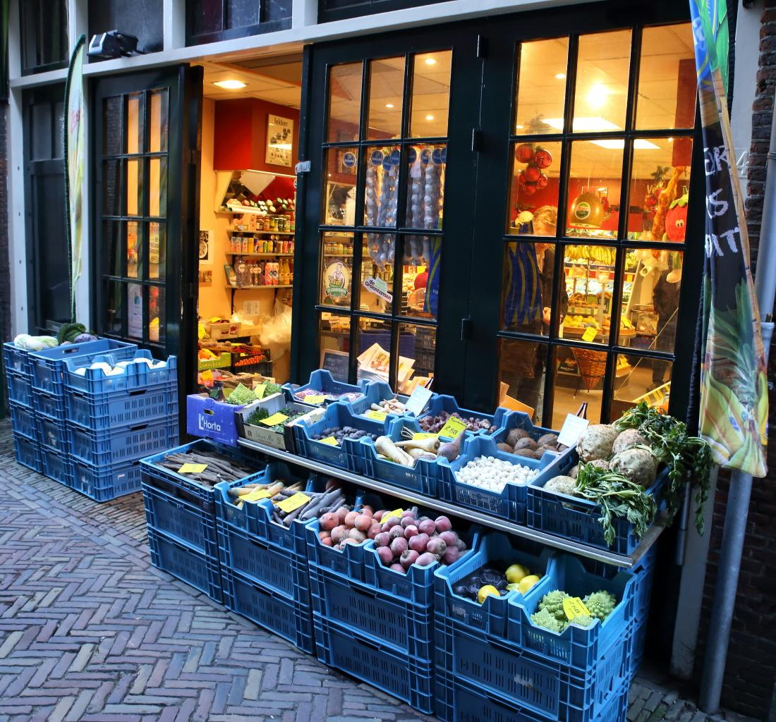 Photo Koos Bertels Groenten- en fruit in Delft, Shopping, Delicacies & specialties - #1