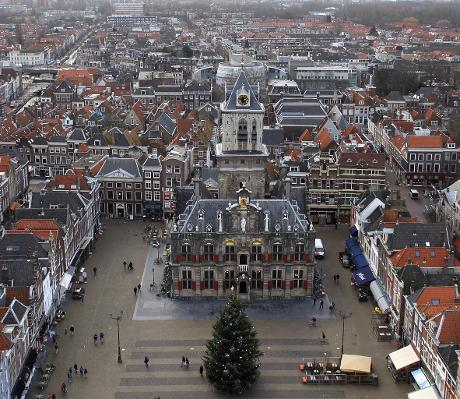 Photo Stadhuis in Delft, View, Sightseeing, Experience
