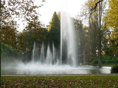 Photo Park Valkenberg in Breda, View, Neighborhood, square, park