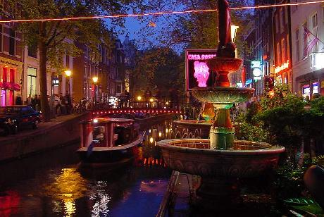 Photo De Wallen in Amsterdam, View, Walk around