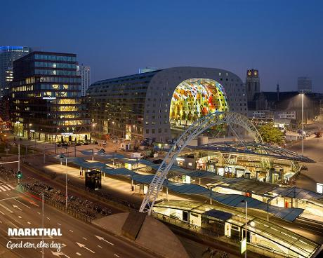 Photo Markthal in Rotterdam, Shopping, Delicacy, Snack, Neighborhood