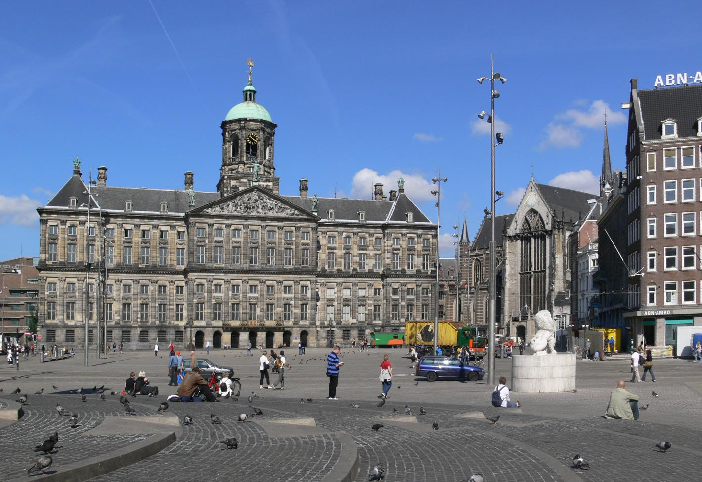 Photo De Dam in Amsterdam, View, Sights & landmarks, Neighborhood, square, park - #1