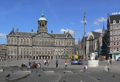 Photo De Dam in Amsterdam, View, Sights & landmarks, Neighborhood, square, park