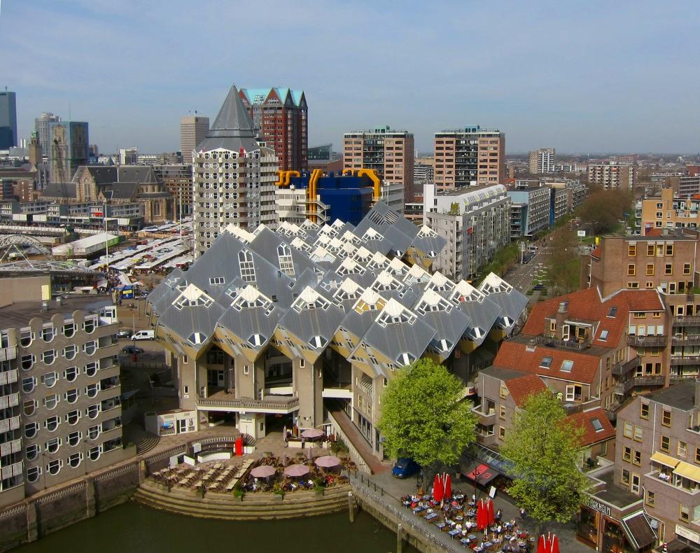 Photo Kubuswoningen in Rotterdam, View, Sights & landmarks, Activities - #2