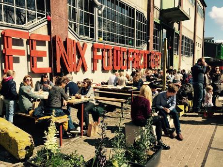 Photo Fenix Food Factory in Rotterdam, Shopping, Delicacy, Lunch, Snack, Drink, Neighborhood