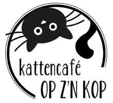 logo establishment Kattencafé Op z'n Kop in Groningen
