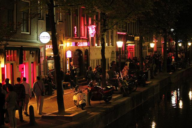 Photo De Wallen in Amsterdam, View, Walk around - #3