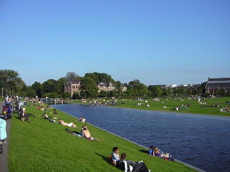 Photo Westerpark in Amsterdam, View, Sights & landmarks, Neighborhood, square, park