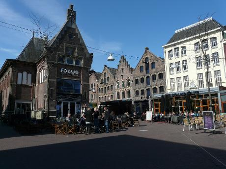 Photo Korenmarkt in Arnhem, View, Lunch, Drink, Diner, Neighborhood