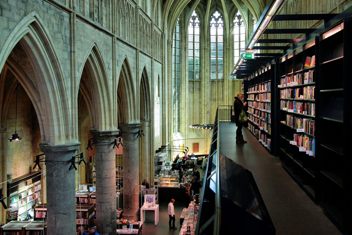 Photo Boekhandel Dominicanen in Maastricht, Shopping, Gift, Hobby, Coffee, Sight - #1