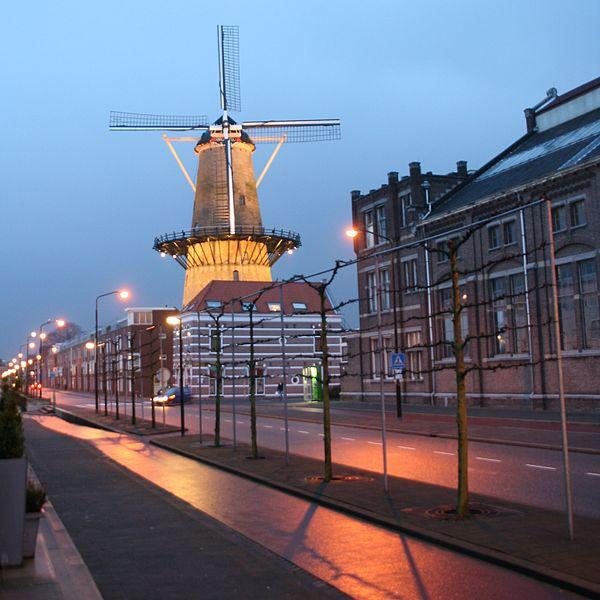 Photo Molen Kyck over den Dyck in Dordrecht, View, Sights & landmarks, Activities - #1