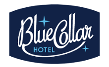 logo accommodation Blue Collar Hotel in Eindhoven