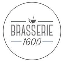logo establishment Brasserie1600 in Middelburg