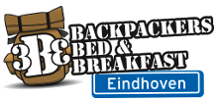 logo accommodation 3BE Backpackers Bed & Breakfast in Eindhoven
